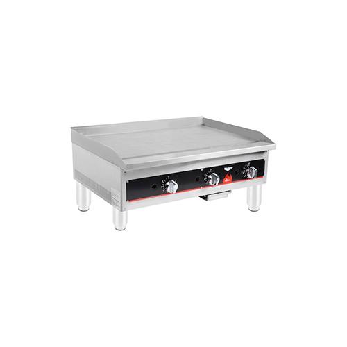 40723 Vollrath Cayenne Commercial Thermostatic Gas Griddle 40723 - 84,000 BTU/Hr