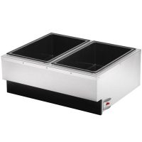 Vollrath Dual Pan Food Warmer 72789 - 1400 Watts
