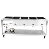 38215 Vollrath Serve Well Hot Food Table 38215 - 5 Wells