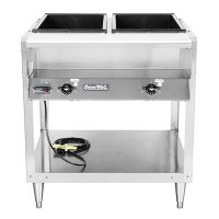 38102 Vollrath ServeWell Electric Hot Food Table 38102 - 2 Wells