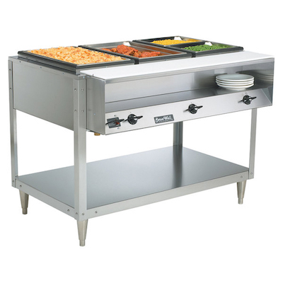 38103 Vollrath ServeWell Electric Hot Food Table 38103 - 3 Wells