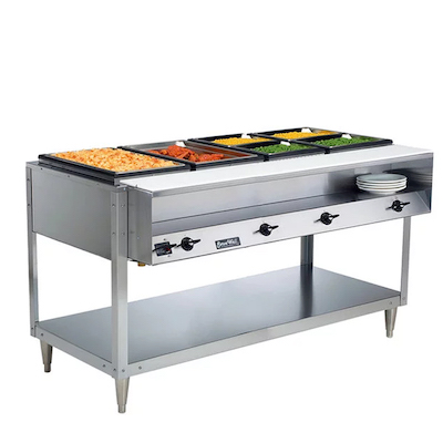 38118 Vollrath ServeWell Electric Hot Food Table 38118 - 4 Wells