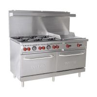 Vulcan 10 Burner Commercial Range With Griddle SX60-6B24G - 258,000 BTU/Hr