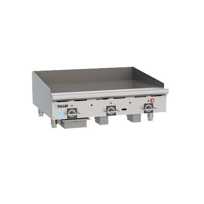 Vulcan Commercial Countertop Gas Griddle 36RRG - 82500 BTU/Hr