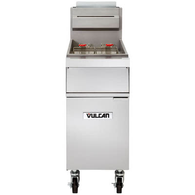 Vulcan Commercial Fry Tank With Cabinet 1GR65M - 150000 BTU/Hr