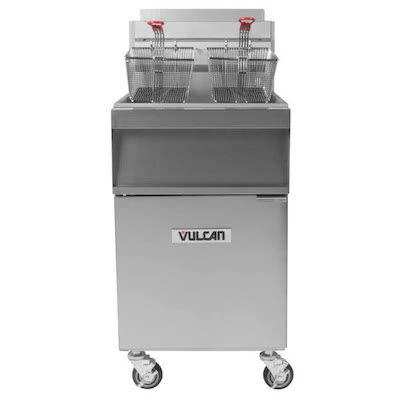 Vulcan Commercial Fry Tank With Cabinet 1GR45M - 120000 BTU/Hr