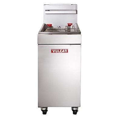 Vulcan Commercial Gas Fryer LG300 - 90,000 BTU/Hr