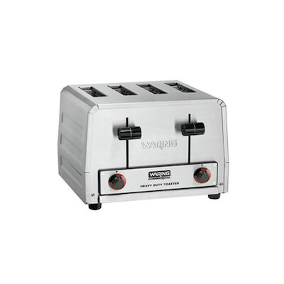 WCT800RC Waring Commercial Pop Up Toaster WCT800RC - 120V
