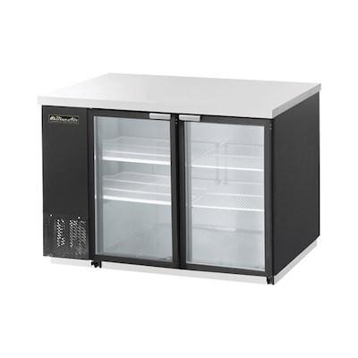 "Blue Air Back Bar Refrigerator BBB59-2BG - 59"", Glass Door"