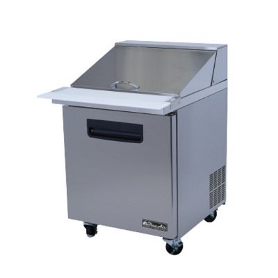 Blue Air Commercial Mega Top Sandwich Prep Table BLMT28
