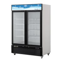 Blue Air Merchandising Freezer BKGF49 - Two Door