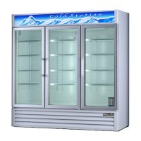 Blue Air Merchandising Refrigerator BAGR72 - Three Door