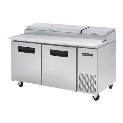 "Blue Air Pizza Prep Refrigerator BAPP67 - 67"""