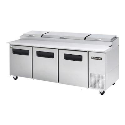 "Blue Air Pizza Prep Refrigerator BAPP93 - 93"""