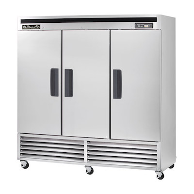 Blue Air Reach In Refrigerator BSR72 - Three Door