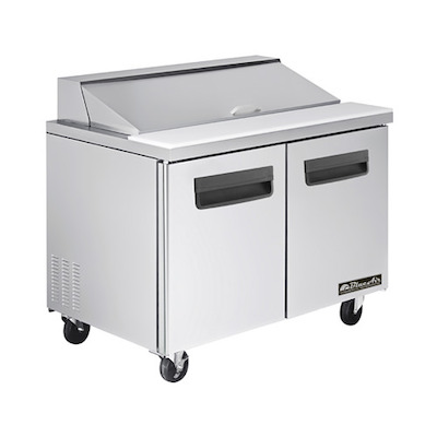 Blue Air Sandwich Prep Refrigerator BLPT60 - Two Door