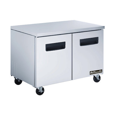 Blue Air Undercounter Freezer BAUF60 - Two Door