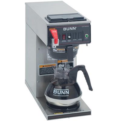 Bunn Automatic Decanter Coffee Brewer CWTF15-1 - 1 Warmer