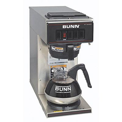 VP17-1 Bunn Pour-Over Decanter Coffee Brewer VP17-1 - 1 Warmer