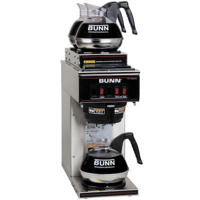 VP17-3 Bunn Pour-Over Decanter Coffee Brewer VP17-3 - 3 Warmer