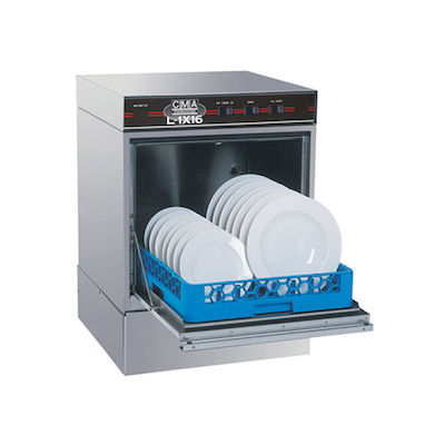 CMA Economy Undercounter Dishwasher L-1X - 30 Racks/Hr, Low Temp