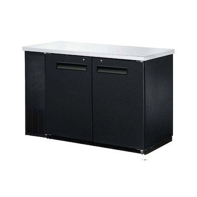 "EFI Back Bar Refrigerator CBBDR2-48CC - 48"", Solid Door"