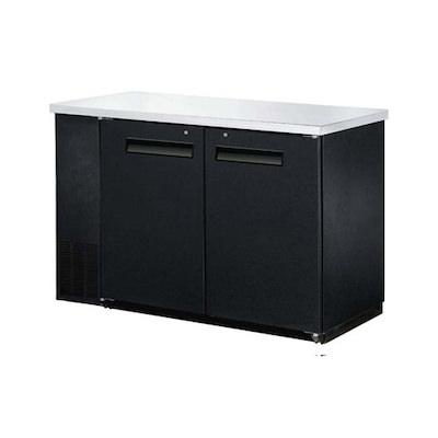 "EFI Back Bar Refrigerator CBBDR2-60CC - 60"", Solid Door"
