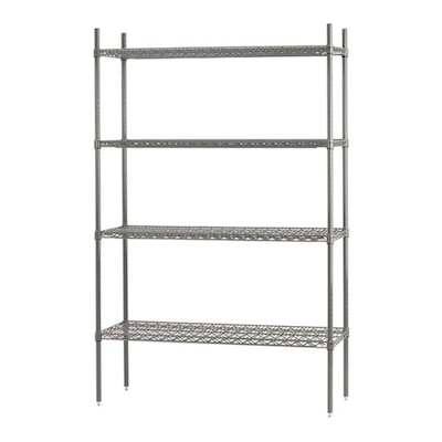 "EFI Chrome Wire Shelving N-S1830C - 18"" X 30"""