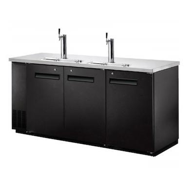 """EFI Direct Draw Refrigerator CBBDD3-72CC - 72"""""""