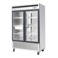 EFI Glass Reach In Refrigerator C2-54GDSVC - Two Door