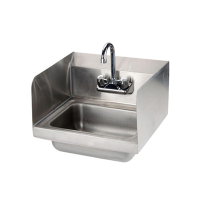 EFI Hand Sink SIH817-S - Faucet & Splash Guard