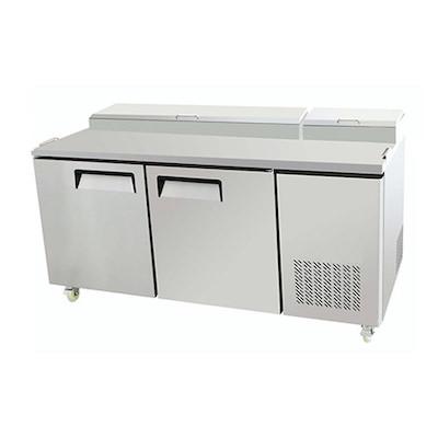 """EFI Pizza Prep Refrigerator CPDR2-67VC - 67"""""""