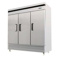 EFI Reach in Refrigerator C3-82VC - Three Door