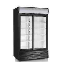 EFI Refrigerated Merchandiser C2S-45GD - 2-Section Sliding Door