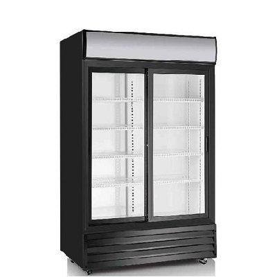EFI Refrigerated Merchandiser C2S-45GD - 2-Section Sliding Door