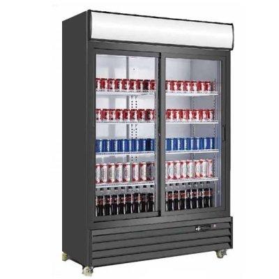 EFI Refrigerated Merchandiser C2S-52.4GD - 2-Section Sliding Door