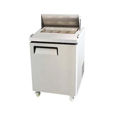 EFI Sandwich Prep Refrigerator CSDR1-27VC - One Door