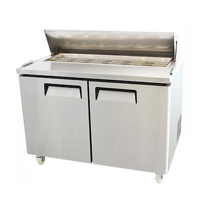 EFI Sandwich Prep Refrigerator CSDR2-48VC - Two Door