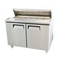 EFI Sandwich Prep Refrigerator CSDR2-60VC - Two Door