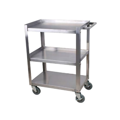 "EFI Stainless Utility Cart CBC1624KD-15 - 16"" x 26"""