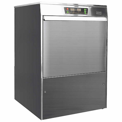 Ecomiser Undercounter Dishwasher SU-02 - 40 Racks/Hr, High Temp