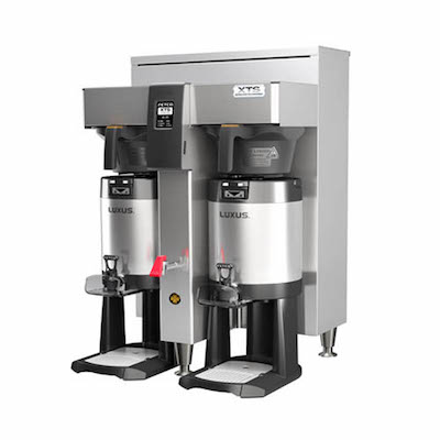 Fetco Dual Shuttle Coffee Brewer CBS-2152XTS -