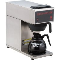 Grindmaster Pour-Over Decanter Coffee Brewer CPO-1P-15A - 1 Warmer