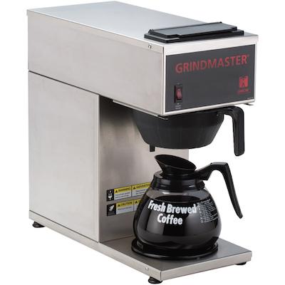 CPO-1P-15A Grindmaster Pour-Over Decanter Coffee Brewer CPO-1P-15A - 1 Warmer