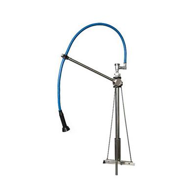 "HIMI Instinct V Mount Pre-Rinse Faucet IF6004 - 60"" Hose, Vacuum Breaker"