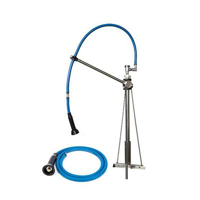 "IF6005 HIMI Instinct V Mount Pre-Rinse Faucet IF6005 - 60"" Hose, Vacuum Breaker, 6"" Extensive Hose"