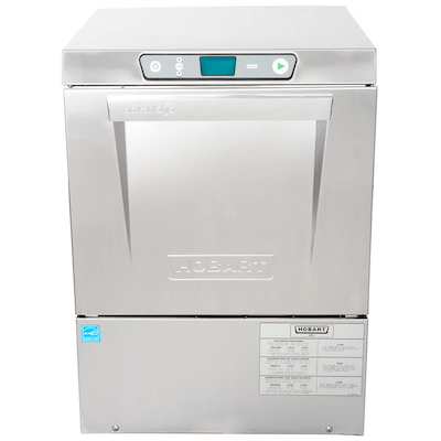 Hobart Sanitizing Undercounter Dishwasher LXePR - Hot Water, Energy Recovery