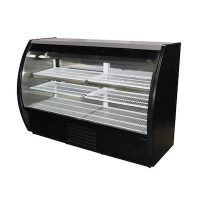 Howard McCray Floor Refrigerated Display Case MIRAGE-6-DC - Curved Glass