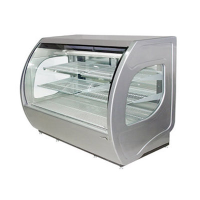 Howard McCray Floor Refrigerated Display Case MIRAGE-ELITE-6-DC - Curved Glass