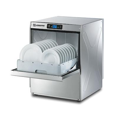 Krupps Undercounter Dishwasher K540E - 30 Racks/Hr, High Temp
